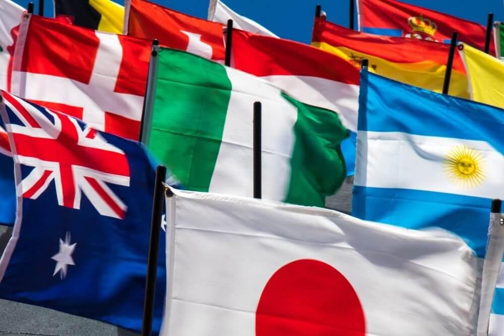 Países para empezar proceso de internacionalización